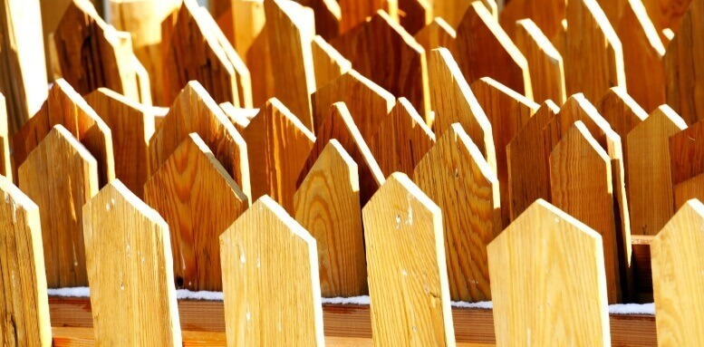 houten hekwerken